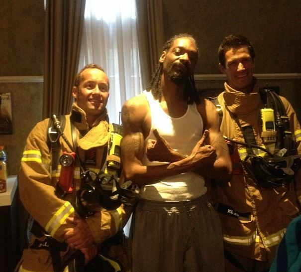 snoopinstagram Firefighters Respond To Fire Alarm At Hotel And Find Snoop Dogg Instead
