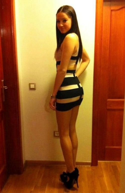 20 Girls That Make Us Jealous Of Their Outfit tight dress girls 111