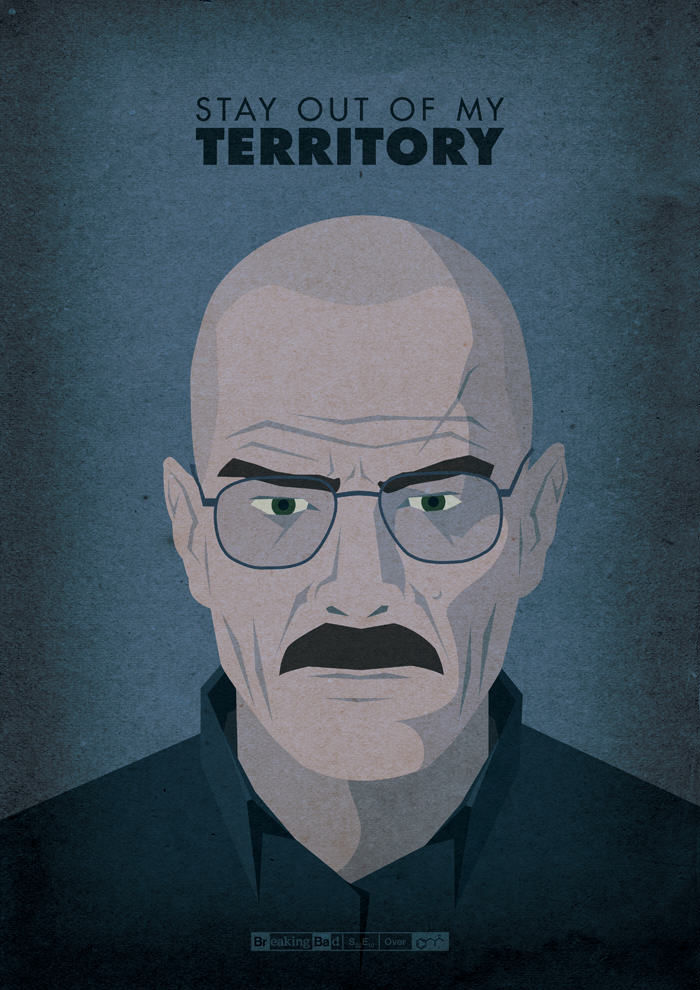 tumblr mvw2kgaUwt1slqxs4o1 1280 Designer Creates Amazing Posters For Every Breaking Bad Episode