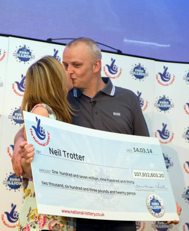 ad 130077081 South London Mechanic Bags £108M EuroMillions Jackpot