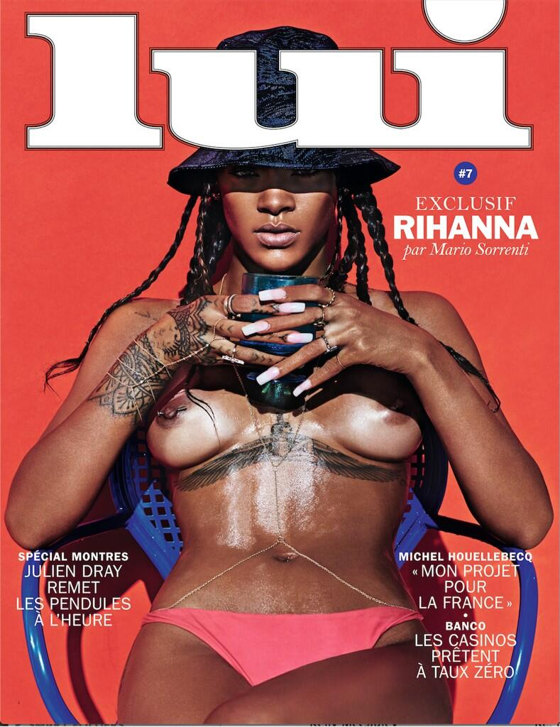 Rihanna Misplaces Her Clothes For Another Naked Shoot (NSFW) BmaJK2HCMAElwbL