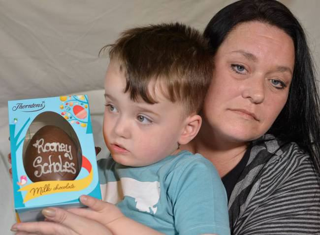 ad 132359726 Boy Named After Wayne Rooney Refused Name On Easter Egg   Uni Lad