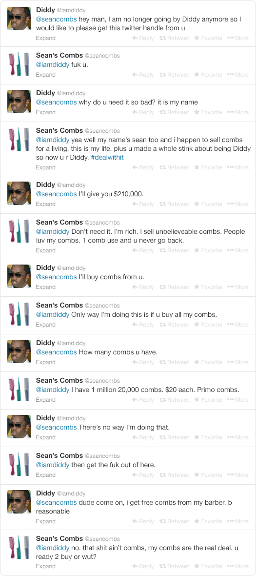 Diddy Begs Twitter Users For Their Handles After Recent Name Change d2749931894a5b361b10d300f5d50150 width 640x