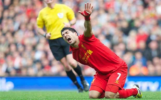 luis suarez liverpool diving Stephen Hawking Deads All Hopes Of England World Cup Success