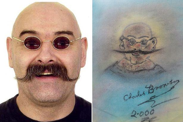 Charles Bronson 1 Charles Bronson Sells Paintings To Send Mum On Holiday