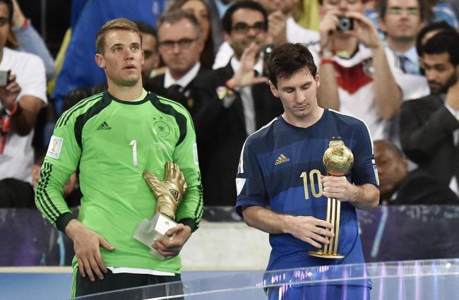 Lionel Messi Gets Controversial World Cup 2014 Golden Ball 1000x65527