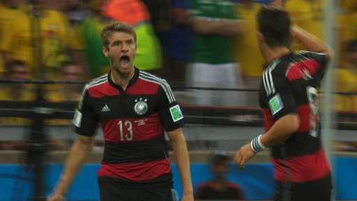 Germany Destroy Brazil In First Half Of World Cup Semi Final 76133404 mmftbwcbragerqfstillsmullerceleb