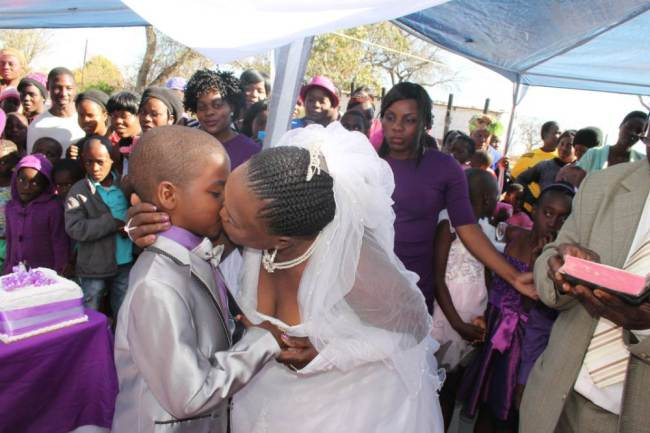 ad 140814744 9 Year Old South African Boy Remarries His 62 Year Old Wife