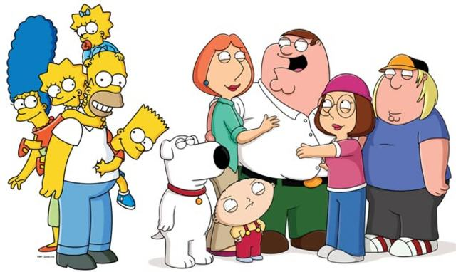 The Simpsons Vs Family Guy Crossover Episode Is Coming! familyguysimpsons large verge medium landscape