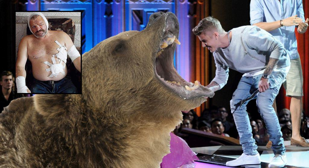 16 Justin Bieber Song Scares Bear Away From Man Mid Attack