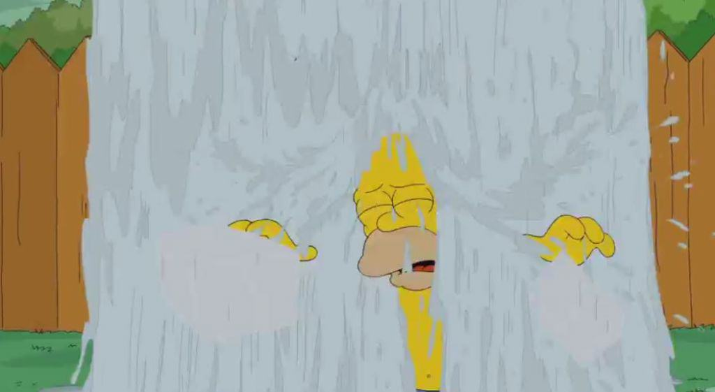homer sim Homer Simpson Does The Ice Bucket Challenge
