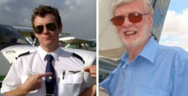 pilot split 82 Year Old Man Tries To Hijack Plane Over Australia