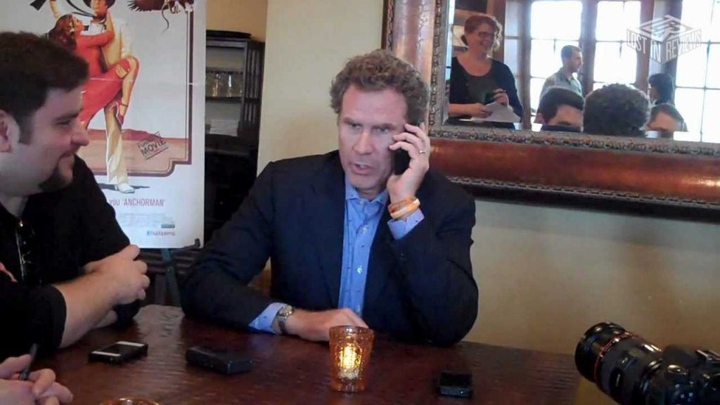 will ferrell picks up interviewe2 Will Ferrell Picks Up Interviewers Phone Call From Her Mum