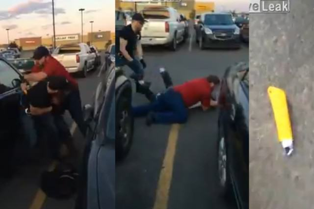 Walmart Staff Almost Gets Stabbed Trying To Detain Thief