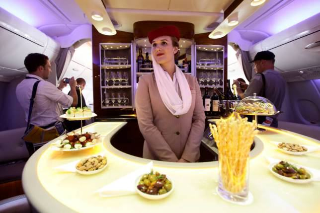 ad 147079660 Onboard Airliners With Insane First Class Cabins