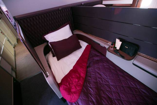 ad 147080115 Onboard Airliners With Insane First Class Cabins