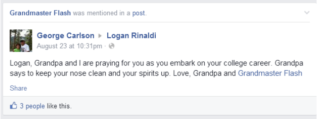 Grandmas Keep Tagging Themselves As Grandmaster Flash On Facebook grandma4