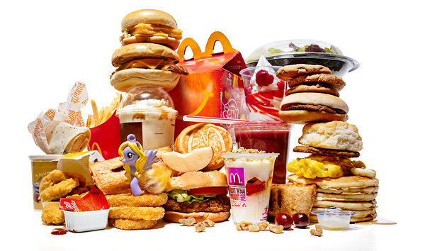 mcdonalds piled Frightening McDonalds Facts That Will Turn Your Stomach