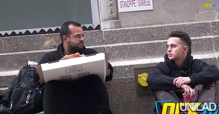 10734173 10152790160340549 3717451498722048491 n Homeless Man Shares The Same Pizza That Was Given To Him