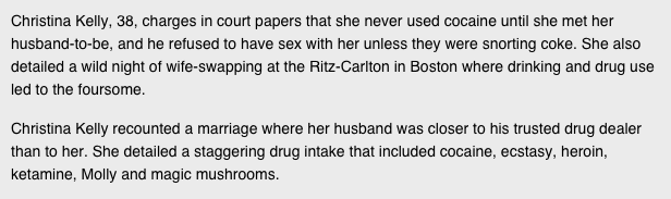 2 Divorce Papers Of NYC Banker Read Like Real Life Wolf Of Wall Street