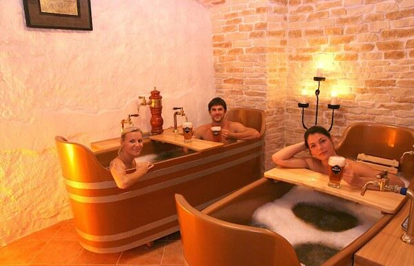 Beer Spa In Prague Allows You To Get Wasted While Bathing In Beer 760