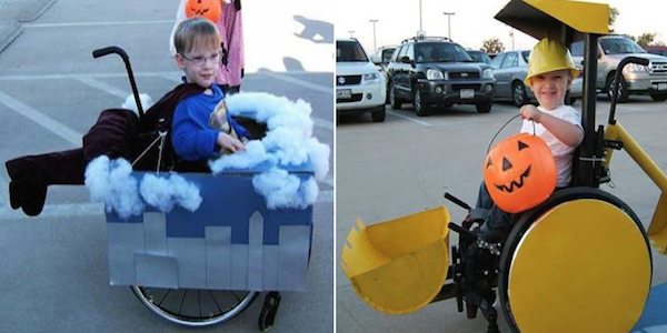 Halloween Costumes elite daily Parents Make Amazing Halloween Costumes For Their Disabled Kids