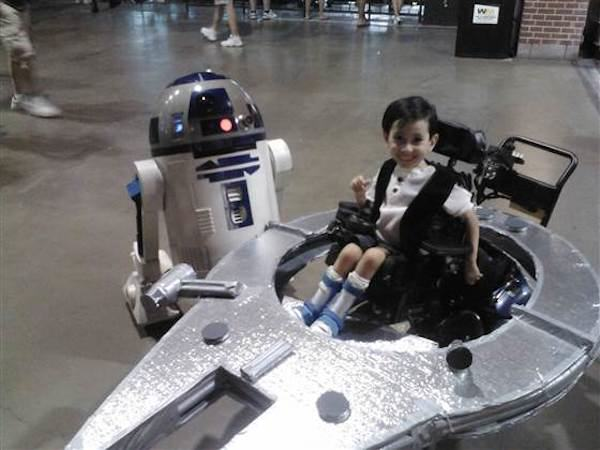 Kyle Byrd Parents Make Amazing Halloween Costumes For Their Disabled Kids
