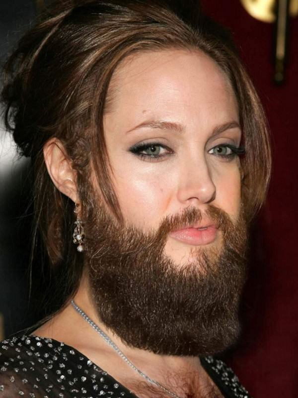 enhanced buzz 19576 1334227955 11 600x800 Nine Usually Hot Female Celebrities With Beards