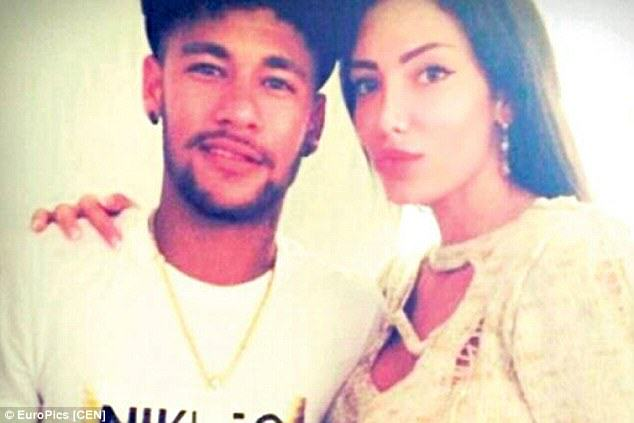 neymar Neymar Sends Private Jet To Collect Serbian Model He Met In Ibiza