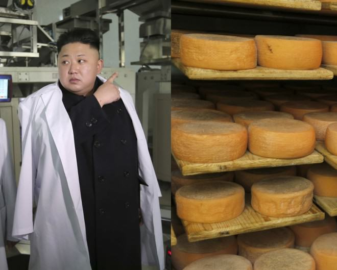 north korean kim jong french cheese emmental enil 1 Kim Jong Un Broke His Ankles After Eating Too Much Cheese