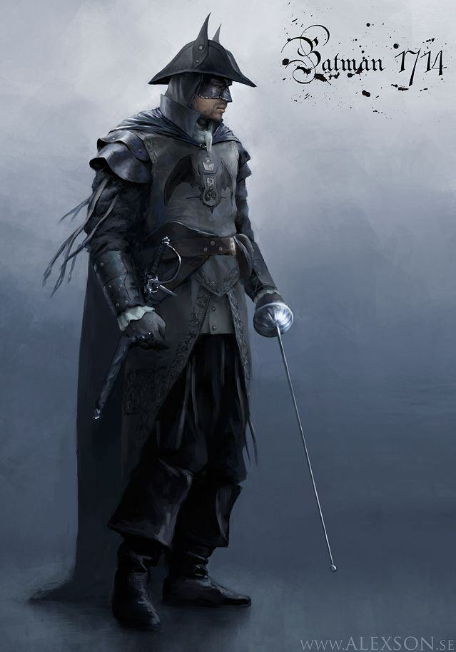 1714batman This Alternative Batman Fan Art Is Seriously Cool