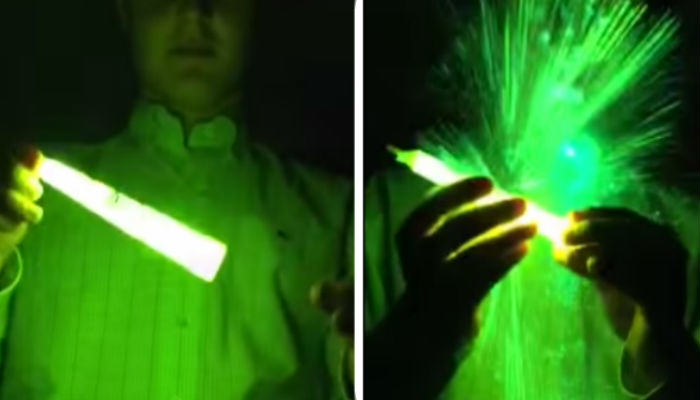 Glow stick web thumb This Kid Microwaved A Glow Stick And Failed Epically