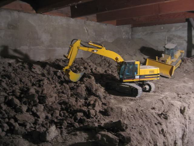 Joe Basement 325 Guy Spends 9 Years Digging Out Basement With Remote Controlled Diggers