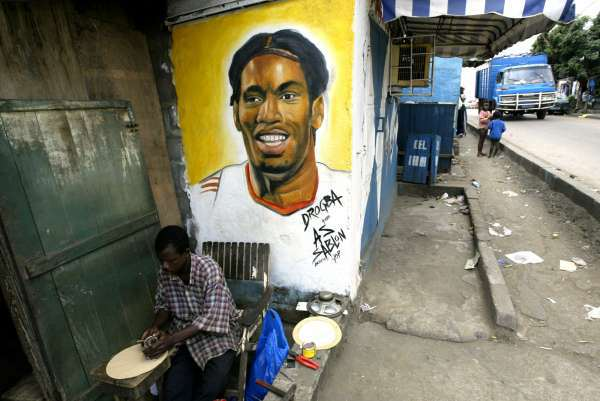 didier drogba 12 Didier Drogba Ended A War And Brought Peace To The Ivory Coast