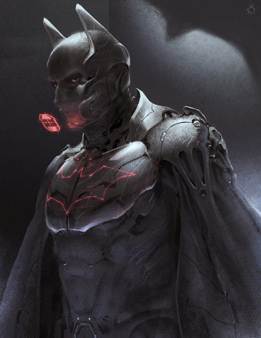 futurebatman This Alternative Batman Fan Art Is Seriously Cool