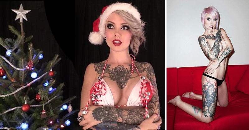 160 Sara X The Boob Twerker Says Merry Christmas In Her Own Way