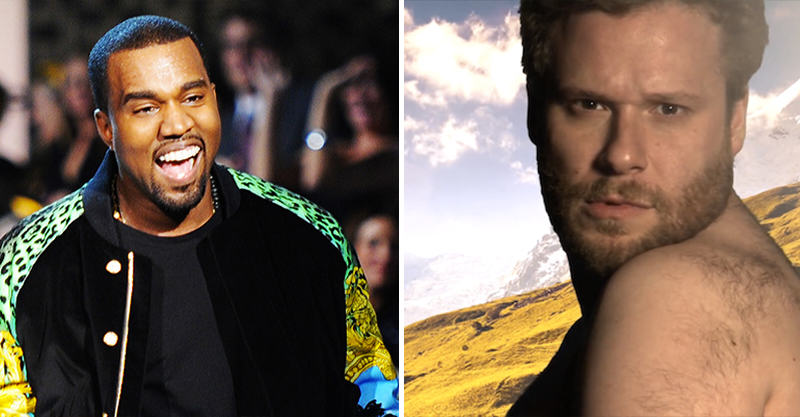 162 Kanye West Rapped The Whole Of His New Album To Seth Rogen In A Limo