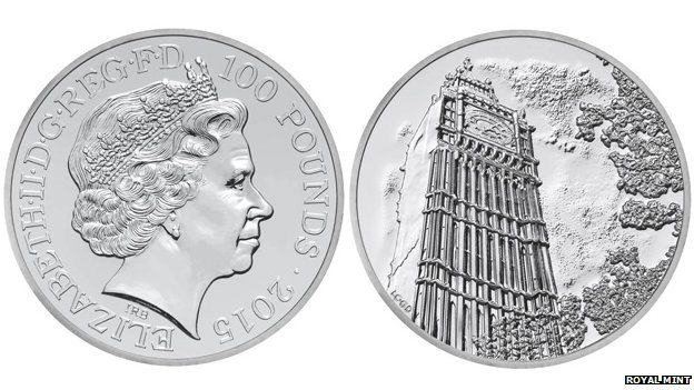 Rare £100 Coin Launches In Britain To Celebrate The New Year 79967223 coincomp