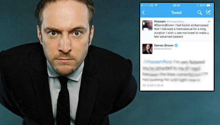 Derren web thumb Derren Brown Deals With Homophobic Abuse Like A Boss
