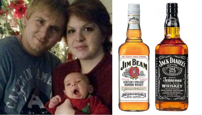 American Man Jack Daniels Names His Son Jim Beam JJ web thumb