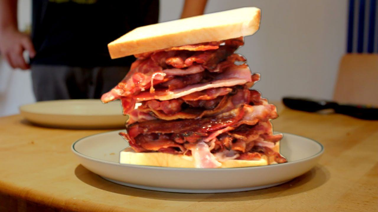 bacon butty Food Porn To Get You Through Your Hangover