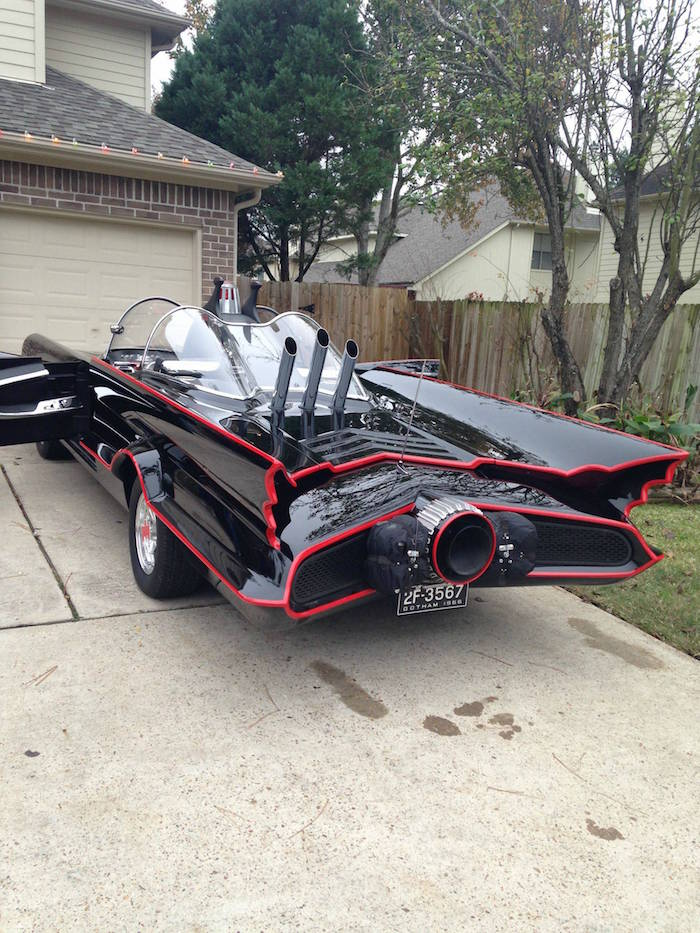 bat12 Man Completes Batmobile After 9 Years Of Work