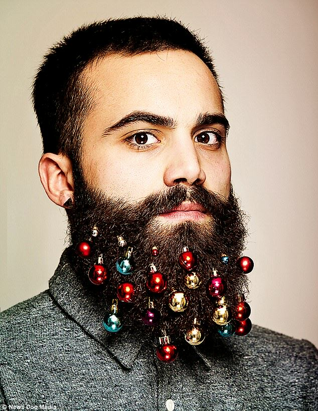baubles 1 Beard Baubles Are The Latest Fashion Accessory For Hipsters This Christmas