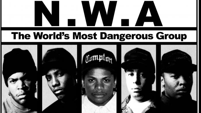 nwa movie e1419964946882 Ice Cube Reveals Straight Outta Compton Trailer At Concert