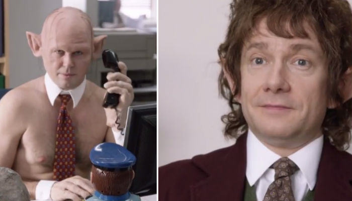 office web thumb Martin Freeman Returns To The Office As Bilbo Baggins