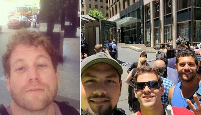 selfies web thumb People Are Taking Selfies Outside The Terror Siege Thats Happening In Sydney