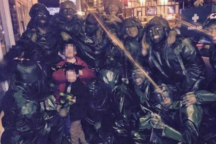 toy soldiers Stag Do Toy Soldiers Storm Nandos, Get Mistaken As Terrorists