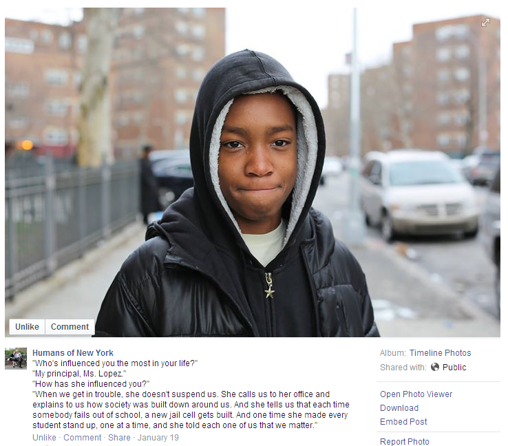 10 HONY Raises Over $1 Million For Underfunded New York School