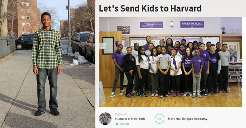 173 HONY Raises Over $1 Million For Underfunded New York School