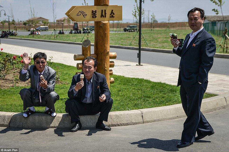 article 2638213 1E49A51800000578 386 964x639 Photographer Visits North Korea Expecting Poverty And Unhappiness, Finds The Opposite